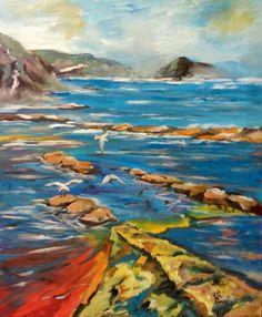 I colori del mare ...acrilico su tela