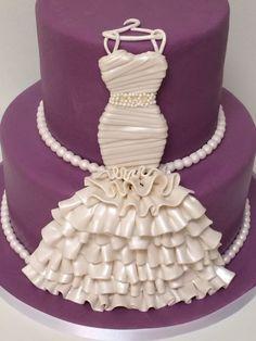 Bridal Gown Cake ( Bridal Shower)