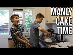 MANLY CAKE TIME! - YouTube