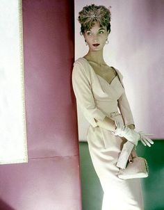 Evelyn Tripp, photo by Horst, 1953