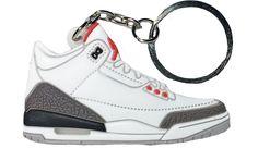 promo code d2589 8fcc0 Jordan 3, Blue Flats, Air Jordans, Keychains, Sneakers Nike, Nike Tennis