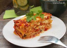 Obľúbená cuketa inak a vždy chutne - Magazín Mozzarella, Meals, Vegetables, Ethnic Recipes, Food, Lasagna, Meal, Essen, Vegetable Recipes