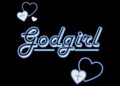 GOD Girl Graphic HD Christian Wallpaper