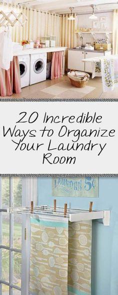 Laundry room, organization, laundry room organization, popular room hacks, DIY home, home organization, organize laundry room