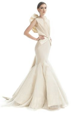 Zac Posen Angel Evening Gown at Moda Operandi