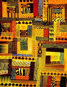 different boldness of patterns
