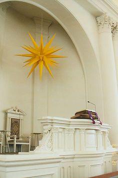 Simple Holiday:  Moravian Christmas Inspiration