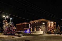 Belle Plaine museum Christmas lights