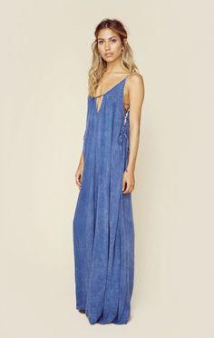 Blue Life The Looks Coachella 2016 Heats On Maxi Dress
