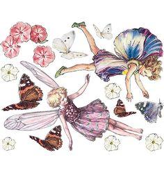 Flower Fairy Wallies