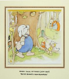 487B: Attwell Betsy Bunny's New Rompers : Lot 487B
