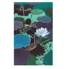 Water Lilies III Painting Print on Wrapped Canvas
