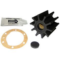 """Jabsco Impeller Kit - 10 Blade - Neoprene - 2-¼"""" - https://www.boatpartsforless.com/shop/jabsco-impeller-kit-10-blade-neoprene-2/"""