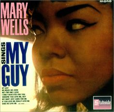 Mary Wells, record cover for My Guy