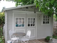 Now You Can Build ANY Shed In A Weekend Even If You've Zero Woodworking Experience! Start building amazing sheds the easier way with a collection of shed plans! Craft Shed, Diy Shed, Build Your Own Shed, Building A Container Home, Shed Homes, She Sheds, Backyard Retreat, Backyard Ideas, Building A Shed