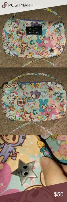 Jujube Tokidoki PerkyToki Quick Good used condition. Corner wear and star scuffs. No stains, smells or tears. Smoke and pet free home. tokidoki Bags Clutches & Wristlets