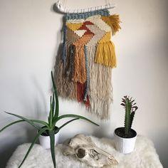 Etsy の Woven wall hanging Desert Days by PrairieFoxStudio
