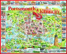 Kittery, Maine & Portsmouth, New Hampshire forever argument over a watermark.....