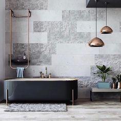 47 Gorgeous Grey & White Bathroom Design Ideas for a Chic Look for 2020 Best Bathroom Designs, Bathroom Trends, Bathroom Interior, Bathroom Goals, Bathroom Colors, Modern Sink, Modern Bathroom, Big Bathrooms, Amazing Bathrooms