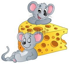 Mouse theme image 2 vector image on VectorStock Maus Illustration, Mouse Pictures, Cute Mouse, Stock Foto, Character Drawing, Disney Drawings, Digital Stamps, Fabric Painting, Cartoon Characters