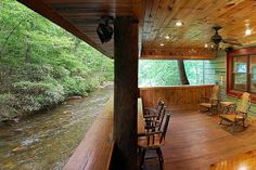 on river ga cabin vacation the rental luxury a beautiful runs helen cabins property chattahoochee for thru it home in alpine rent rentals