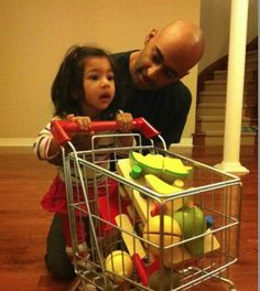 Integrating therapy practice into your everyday home activities is a great way to keep your child motivated and on task. Simply following the lead and interests of your child can open up exciting possibilities for reaching countless therapy goals.    Pretending to grocery shop is one way that Anchel Krishna and her husband Dilip work on their daughter Syona's therapy goals at home in a natural and playful way. Learn more...