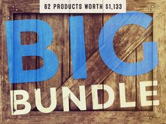 The Creative Market Bundle is valued at $1,209, but you can pick it up today for just $39. That's 96% off. 7 DAYS LEFT