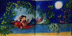 Jardim secreto: desenhos aplicados
