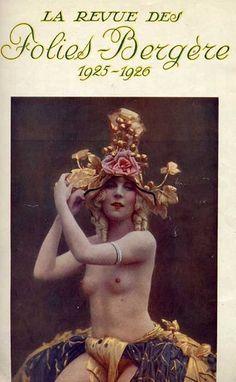 Folies Bergère, Paris, Brochure