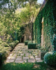 Hall of Fame interior designer Rose Tarlow's ( Provençal landscape, like her acclaimed interiors, is where… Landscape Design, Garden Design, Landscape Architecture, Rose Tarlow, Gazebo, Pergola, Dry Stone, French Country House, Country Homes
