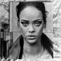 WANT A SHOUTOUT ? CLICK LINK IN MY PROFILE !!! Tag #DRKYSELA Repost from @chriz_owen_arts My drawing of @badgalriri Finally finished! I'm still practicing What do you think? . . . . . . . #artbrilliants #artsupporters #artist #artshelp #_spaceart #artworkrepost #art_collective #instaartexplorer #artmafia #artoffame #sendyourbestart #artwork_shares #art_hyperrealism #art_hyperrealistic #theartmachine #imaginationsarts #9gart #artig #young_artists_help #illustration #realism #portrait #Rihanna…