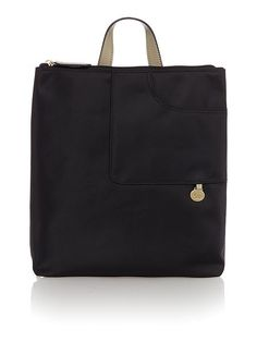 Pocket essentials black backpack