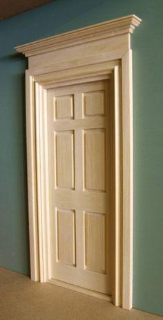 Internal Door Pediments сандрик фронтон