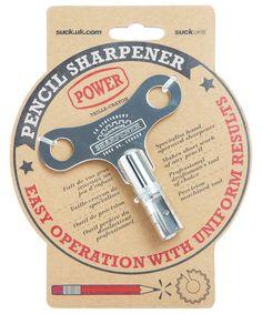 Love - Clockwork Pencil Sharpener   Desk Accessories and Stationery   Liberty.co.uk - £17.95