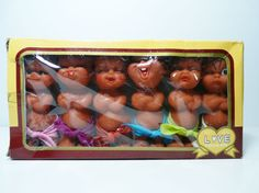 Vintage 6 Chi-teh puppets Love dolls Moody cutie dolls made