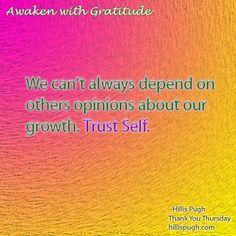 We know what is best.  #awakenwithgratitude #gratitude #love #life #trustself #thursdaythought #positivevibes #lifequotes #dailyquote #selfawareness #awakening #spiritjunkie #spiritiualgangster #holistic #esoteric #namaste #enlightened #oneness #connected #purpose #opinion #spiritualjourney #selfawareness #lightworker #loveandlight #spiritualgrowth