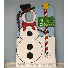 Snowman Photo Booth Prop (WOOD), Winter Wonderland Face in Hole Prop, Personalized Sign, Indoor / Outdoor Decorations Winter ONEderland Christmas Photo Booth Props, Christmas Booth, Christmas Yard Art, Snowman Christmas Ornaments, Candy Christmas Decorations, Christmas Poster, Office Christmas, Christmas Photos, Christmas Diy