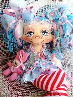 Сказочные персонажи ручной работы. Ярмарка Мастеров - ручная работа Кукла Милая Зайка -феечка детства. Handmade.