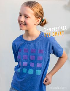 Kids, by nature, are incredibly imaginative and love to put their own spin on things, especially style. Encourage kids to embrace their individuality by helping kids design their very own tee shirt! #happyhandmade @classicplay
