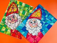 Nachhaltiges Basteln mit Sinterklaas - Studio Jocelyn - New Ideas Hobbies And Crafts, Diy And Crafts, Crafts For Kids, Winter Project, Love Drawings, Christmas Themes, Projects To Try, December, Studio