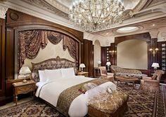 bedroom -Ritz-Carlton, Riyadh