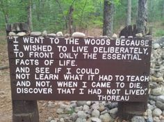 Henry David Thoreau Walden Pond Quotes