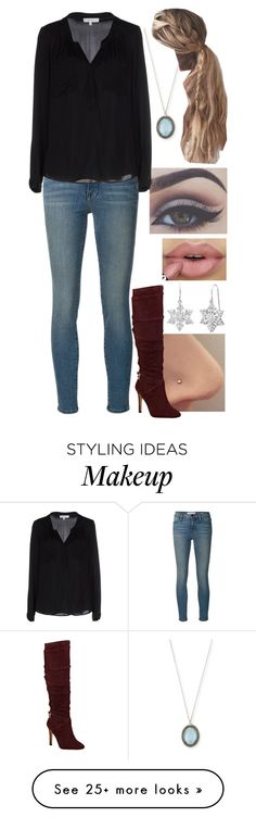 """""""Untitled #382"""" by stepupdancer on Polyvore featuring Armenta, Frame Denim, GUESS, Milly and Amanda Rose Collection"""