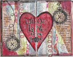 Without Love Time Stops...