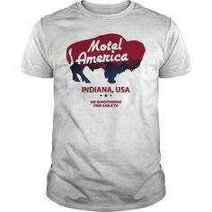 Motel America Home of the Gods Shirt, Youth Tee