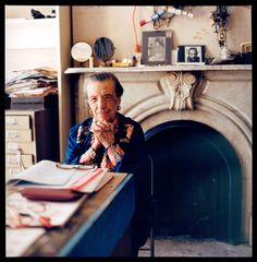 Louise Bourgeois, New York 20th St _She say, I have been to hell..._