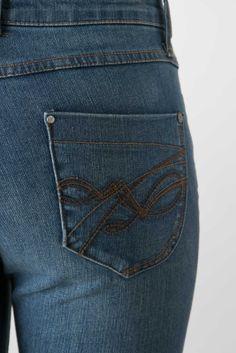 Jean bootcut taille haute - Jeans Evasé femme de la marque Bréal