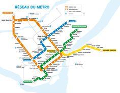 Les prolongements planifiés du métro. [Plan] - Imgur