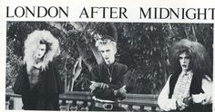 London After Midnight † Propaganda Magazine: issue 1990 † 80s Goth, Punk Goth, London After Midnight, Goth Bands, Goth Music, Vintage Goth, Gothic Rock, Music Mix, Post Punk