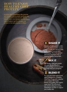 GET THE MOST OUT OF YOUR PROTEIN